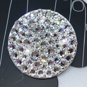 NEW Bling Authentic Silver PopSocket CLEAR Swarovski Crystals PopSockets iPhone