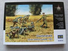 Master Box mb3563 Counterattack SOVIET INFANTRY Summer 1941 1:35 KD SPEDIZIONE COMBINATA