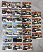 DISNEY TRANSPORTATION CARDS WALT DISNEY WORLD ALL 25 OF 25