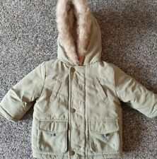 Baby Boys Winter George Coat 3-6 Months Excellent Condition