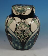 Moorcroft artes y oficios Talwin tarro de jengibre 769/6 Nicola Slaney RRP £ 585