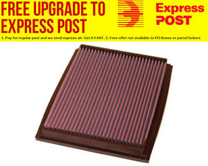K&N Replacement Panel Filter Suit 2000-2013 Audi A4 & Seat Exeo
