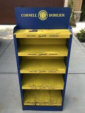 Vintage Cornell Dubilier Metal Storage Rack