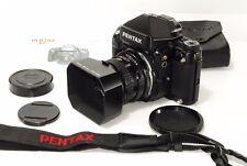 EXC++++ Pentax 67 II Medium Format Film Camera AE Finder 105 mm lens Kit (1734)