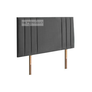 Cesar Upholstered Crush Velvet Headboard