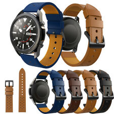 Quick Release Leather Strap Bracelet 22MM For Samsung Galaxy Watch 3 45mm Bands
