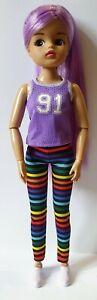 Sindy / Fashion doll size Unboxed Mattel Creatable World Purple Vest Top 1:6