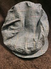 Vintage Arthur Payne men's size M cabbie driving Gatsby newsboy hat cap