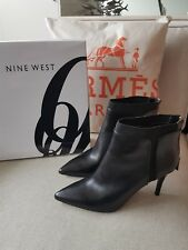 NINE  WEST new Ankle Boots 9  Zip $199  PRECUSSION