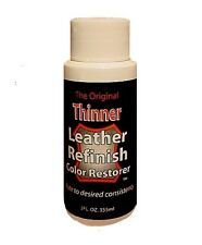 2oz. - Coloring Thinner for Leather Refinish an Aid to Color Restorer