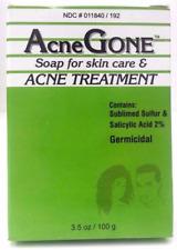 Acne Gone Soap Bar for Acne Pimple & Spot Treatment 3.5oz 100g