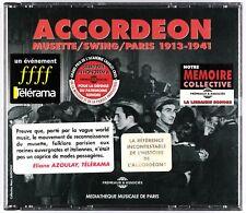 ACCORDEON - Musette / Swing / Paris 1913-1941 - Coffret 2 CDs