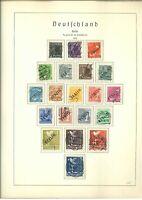 Berlin Sammlung 1948-1990 gestempelt im Leuchtturm SF Vordruckalbum