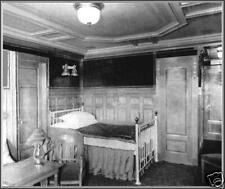 Photo: Titanic Interior: 1st Class Single Bed Stateroom