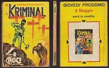KRIMINAL 44 - 4 CROCI - 28 APRILE 1966 150 LIRE MAGNUS
