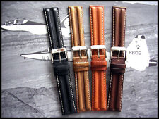 20mm Tan Khaki army Pilot Aviator Military watch band strap IW SUISSE NATO 18 22