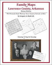 Family Maps Lawrence County Arkansas Genealogy AR Plat