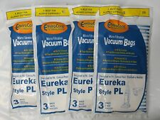 12 Allergy Microlined Bags for Eureka Vacuum Style PL