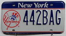 """USA Nummernschild aus New York """"YANKEES"""" mit schöner Grafik. 6643."""