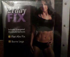 Beachbody Autumn Calabrese 21 Day Fix Flat Abs Fix Barre Legs Workout DVD