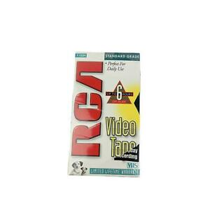 RCA Blank VHS Video Tape T-120H Standard Grade 6 Hours NEW