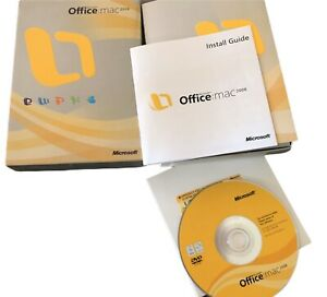 Microsoft Office 2008 for Mac Complete With Product Key