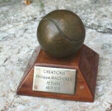 trophée création Philippe macheret 72 . tuffe  boule de pétanque