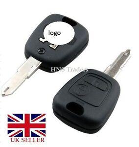 Para Vauxhall Corsa Meriva Combo Opel 2 botón remoto CLAVE FOB CASO conversión A14
