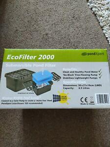 Eco Filter 2000 pond filter
