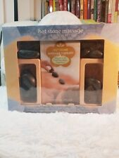 Hot & Cold Stone Massage Therapy Book & Kit
