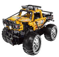 Bausteine Gelb Xingbao Monster LKW Fernbedienung Geschenk Spielzeug 739PCS