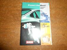 Sata Jet 2000 Hvlp Spray Guns, Respirators, Accessories, Purification Manual