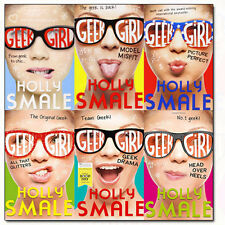 Holly Smale Collection Geek Girl Series 6 Books Set Pack Head Over Heels NEW PB