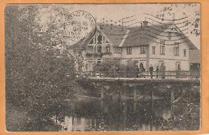 Skotterud Norway 1909 Postcard Mailed