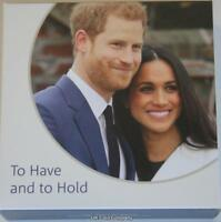 2018 Harry and Meghan Royal Wedding Silver Proof £5 Five Pound Coin Royal Mint