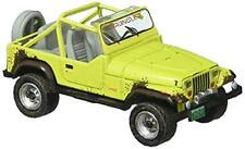 Greenlight 97030-D 1:64 Scale Hobby Shop 1991 Jeep YJ w/ Mud Spray & Spare Tires