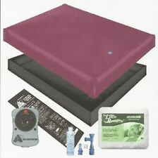 Free Flow Waterbed Mattress / Pad / Liner /Heater / Fill Drain Conditioner Kit