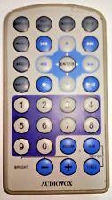 Original Audiovox 13644900 Portable DVD Player Remote Control