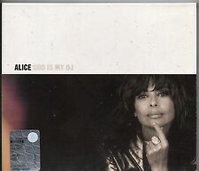 ALICE CD GOD IS MY DJ Franco Battiato  1999 15 tracce FUORI CATALOGO