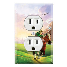 Legend of Zelda Decorative Duplex Receptacle Outlet Wall Plate Cover ZD01