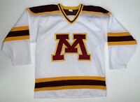 Vintage 90s Minnesota Golden Gophers Hockey Jersey Size Mens Medium NCAA