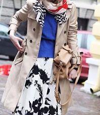 Rare! size XS _ NWT ZARA WOMAN WHITE BLACK Floral Print Pleated Skirt