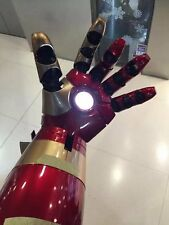 Cattoys 1/1 Wearable LED Armor Hand For Iron Man MK XLII 42 Cosplay New