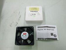 Dayton Axial Fan 3vu65 4 34 X 4 34 X 1 12 115v 5060 Hz 102 Cfm Nib