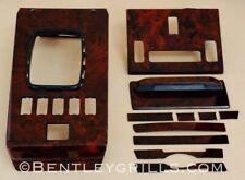 Mercedes SL R107 W107 Wood Interior Trim Burl Walnut 11 Piece Set