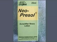 Neo-Presol Acne/Aftershave Lotion 25ml. For men, women, teens. NEW