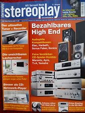 STEREOPLAY 2/08 CABASSE artis karissima, ELAC BS 244, Sonus auditor M, Sonics S 2