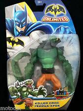 """DC UNIVERS 6"""" Action Figure KILLER croco Batman Unlimited méchant"""
