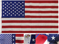 Valley Forge USA Flag 50 Star 3x5 3'x5' 100% Cotton Embroidered Flag Made in USA