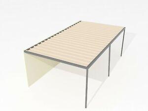 Polycarbonate/Colorbond Roofing Aluminum Pergola/Carport 6m-10m wide